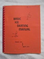 """Vintage """"Basic Ice Skating Manual"""" by Peggy Lill - 1960s Gold Medalist -EXC Cond"""