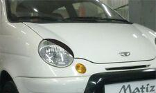 Cilia head lights Headlights eyebrows Daewoo Matiz 1998 Design eyebrows typ 2