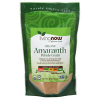 NOW Foods Amaranth Grain, Organic, 16 oz.