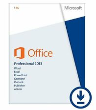 Key für Microsoft Office Professional Plus 2013 32/64bit Deutsch