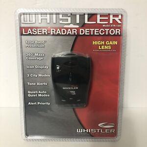 Whistler XTR-130 Laser Radar Detector New Factory Sealed