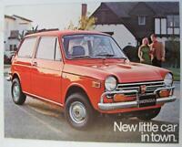 HONDA 600 Sedan Car Sales Brochure 1970 USA Print