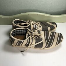 Toms Shoes Slip Ons Casual Men Size 8 Excellent Condition