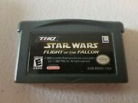 STAR WARS: FLIGHT OF THE FALCON NINTENDO GAME BOY ADVANCE GBA 275