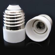 2x E27 to E14 LED Base Sockel Licht Birne Lampenhalter Adapter Stecker Konverter