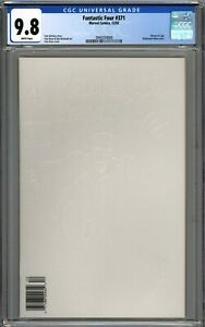 Fantastic Four #371 CGC 9.8 NM/MT RARE Newsstand Variant WHITE PAGES