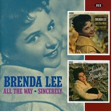 Brenda Lee - All the Way: Sincerely [New CD] UK - Import