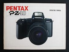 PENTAX PZ-10 OPERATING MANUAL