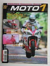 MOTO 1 N° 183 /HONDA CBR 999/DUCATI 900 SS-HONDA VTR 1000-SUZUKI TL 1000 S/MV F4