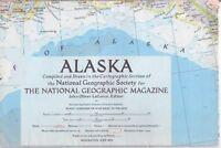 national geographic map-JUNE 1956-ALASKA.