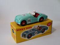 Triumph TR2 sports   - ref 111 au 1/43 de dinky toys atlas / DeAgostini