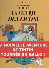 Le secret de la Licorne. Tintin en GALLO. Cartonné, éd. Rue des Scribes  2001
