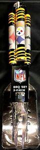 NFL Pittsburgh Steelers 3 piece BBQ utensil set