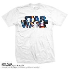 Star Wars Crew Neck Regular Size T-Shirts for Men