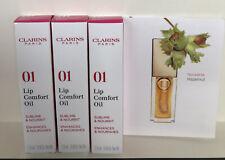 clarins lip oil 3x2,8 ml.(8.4 ml)