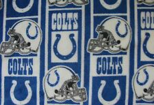 LAST TWO! NFL INDIANAPOLIS COLTS PRINTED FLEECE KING PILLOW CASE 19X36