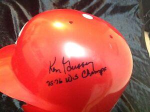 Ken Griffey Sr 75-76 WS Champs Full size batting helmet Cincinnati Reds