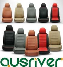Red Black Beige Grey Brown Tailor Made PEUGEOT CITROEN Front Rear Seat Cover Set