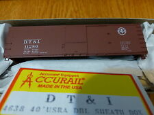 Accurail Ho #4638 Dt&I 40' Usra Dbl Sheath Box (Kit form)