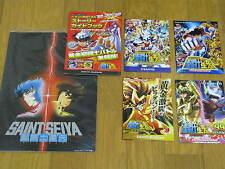 SAINT SEIYA JAPAN MOVIE PROGRAM 1988 + EXTRA PACHINKO BOOKLET X5 SHINGO ARAKI