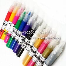 Wholesale 12 Different Colors 3D Nail Art Polish Paint Pen Set - USA Seller