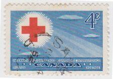 (CA165) 1959 CANADA 4c Red & Blue SG442