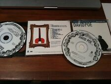 DAVID POE self-titled 2-cd w/BONUS disc Blue Glass Fail
