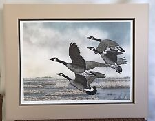 "Chris Forrest ""October Journey"" Canadian Geese Limited Edition Lithograph COA"