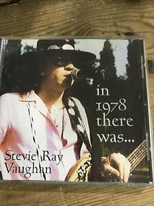 Stevie Ray Vaughan - In 1978 There Was Cd