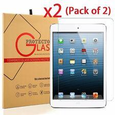 (Lot 2) 2x Ultra Thin Tempered Glass Screen Protector iPad Mini 1 2 3 Retina