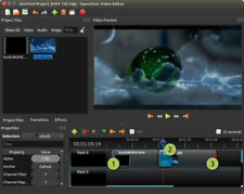 Professional Video Editing Software New Openshot Editor For WIndows 10 8 7 & Mac