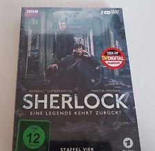 Sherlock - Eine Legende kehrt zurück! Staffel 4  NEU u. OVP