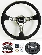 """1969-1994 Camaro steering wheel LEATHER 14"""" Grant steering wheel"""