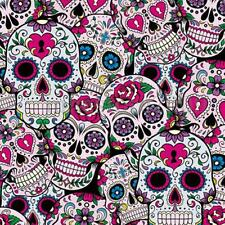 PVA Dipping Hydrographics Water Transfer Printing Candy Skulls Film 0.5m x 2m
