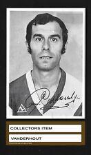1971 COEN MOULIJN EXTRA CARD voetbalsterren 1970/1971- MEGA RARE