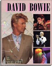 David Bowie - 1985 Biography and Timeline Book by Steve Gett!