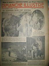 N° 690 REPORTAGES PHOTOS HISTOIRE ROMAN BD BICOT M. POCHE DIMANCHE ILLUSTRE 1936