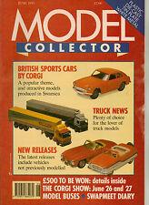 MODEL COLLECTOR Magazine June 1993 Buses Trucks Cars Aircraft EFE Corgi Matchbox