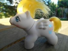 mon petit poney my little pony HASBRO G1 BABY SPECKLES 1987 VINTAGE
