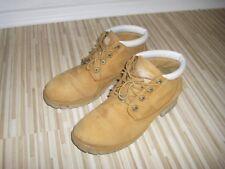 Timberland Schuhe Boots  Große 41 für Frauen und Mädchen Braun Weiß