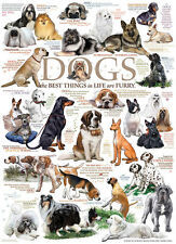 Jigsaw Puzzle Animal Dog Quotes Humorous Sayings 1000 pieces NEW
