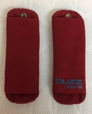 Quinny Buzz Xtra Harness Shoulder Pads - Red Rumour - Great Condition