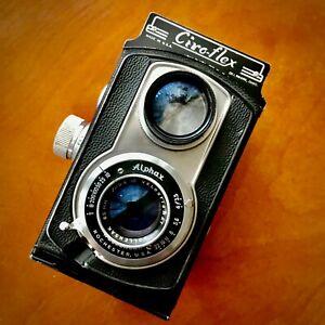 Ciro Cameras Ciro-Flex Camera with Wollensak 85mm f3.5 Lens, as-is , Read!