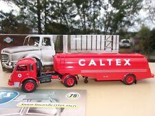SAVIEM TANCARVILLE Camion Semi Remorque Citerne CALTEX 1/43 Neuf
