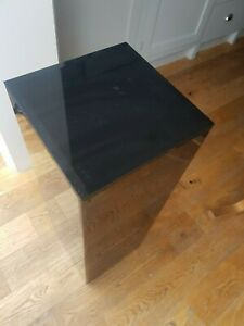 Tall, black display stand. High quality acrylic, suitable for ceramic, plant etc