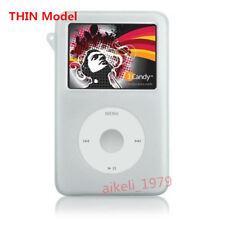 White Rubber Silicone Skin Cover Case For iPod Video 30GB Classic 120GB/160GB