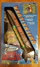 Estes Quicksilver Ready to Fly Model Rocket Set - EST 1800- Open Box -New Unused