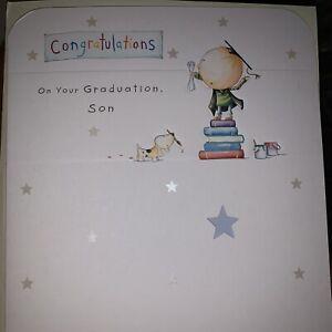 Son On Your Graduation Card