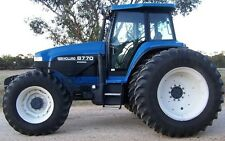 Ford New Holland Series 70 70A Tractors 8670 8770 8870 8970 Service Manual