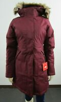 NWT Womens The North Face TNF Arctic Down Parka Warm Winter Jacket - Red